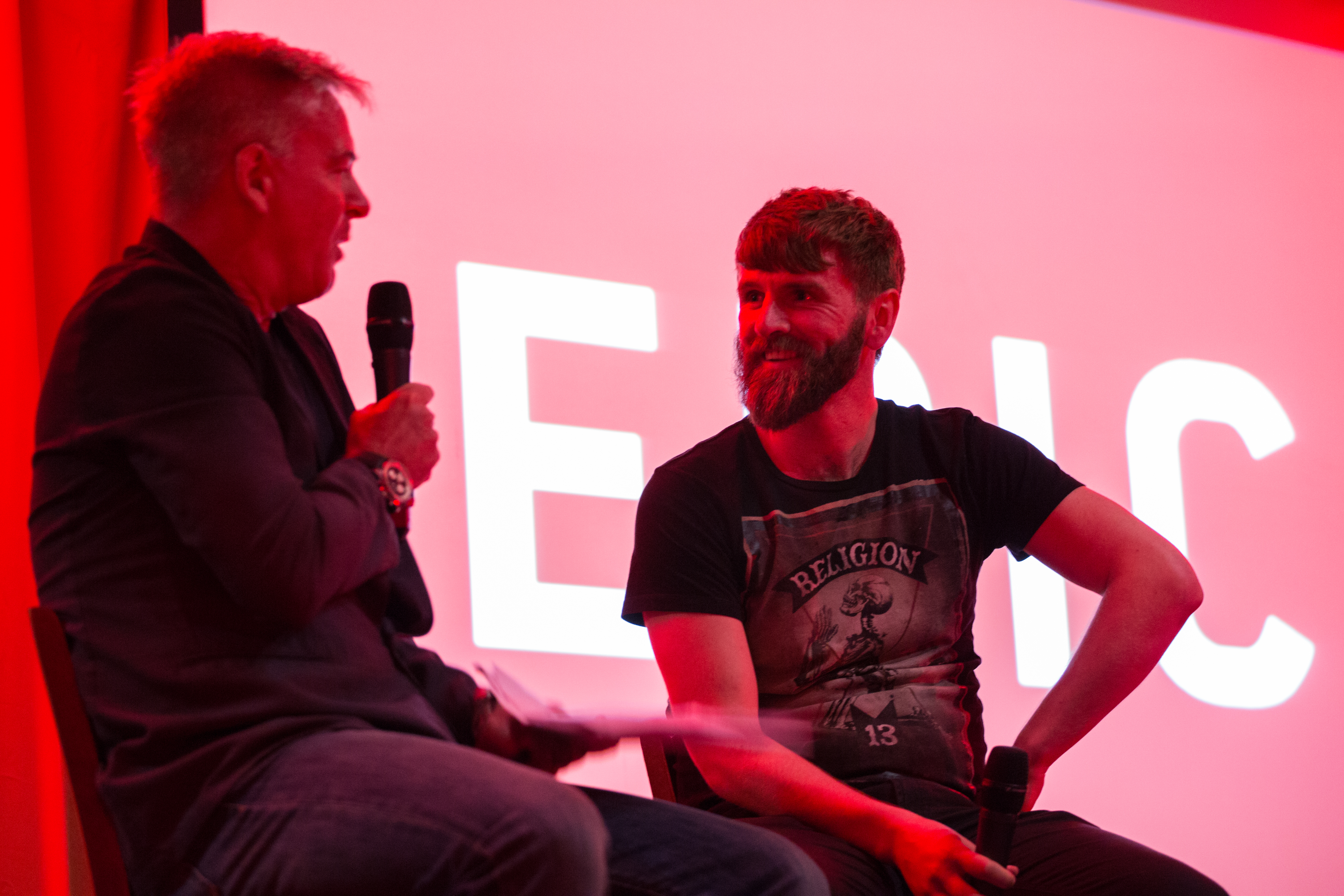 Evening with Paddy McCourt