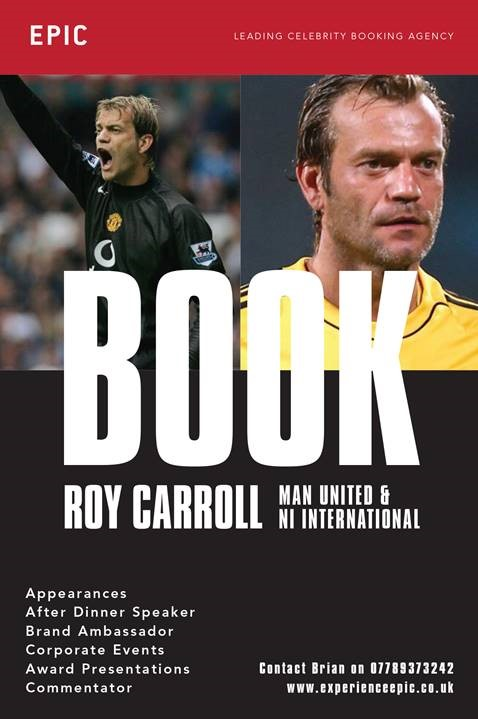 Book Roy Carroll