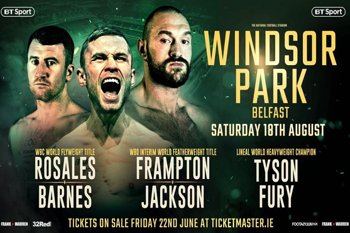 Frampton Fight Windsor