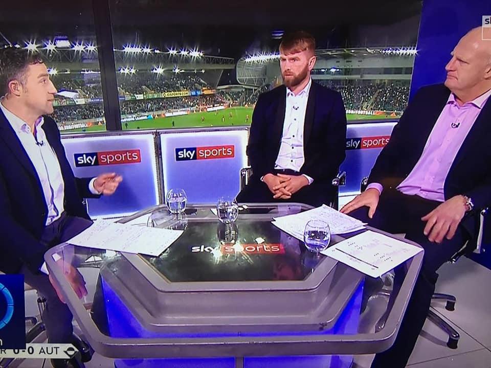 Paddy McCourt Sky TV 2